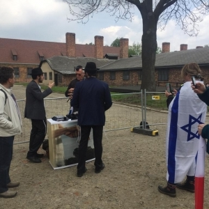 """""""Marsz Żywych-2019"""" - Chabad w Auschwitz-Birkenau"""