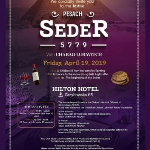 Pesach-5779