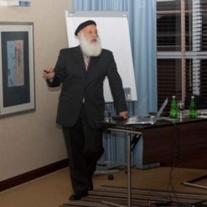 Wykład dr Rabina Wolfa w Hotelu Hilton w Warszawie